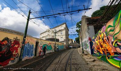 КРАСКИ ЛИССАБОНА лиссабон краски трамвайчик