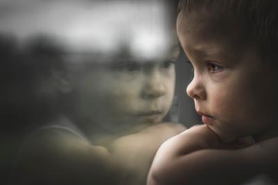 Ангел-хранитель ребёнок отражение