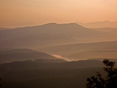 Рассвет на Мангупе. Крым, горы, Мангуп