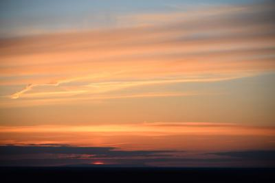 Закатное настроение Закат небо природа природное явление облака