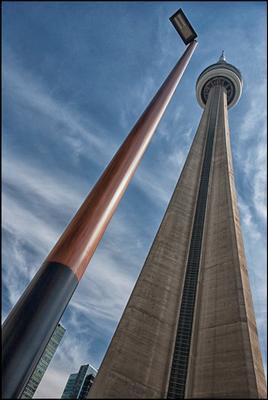 Торонто. башня и фонарь(1) Канада Торонто