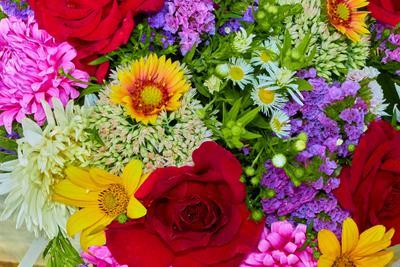 Букет цветов цветы букет флористика
