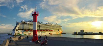 Мы провожали пароходы форт Константин