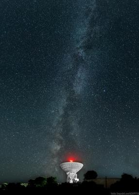 Млечный путь млечный путь звезды телескоп ночь небо крым