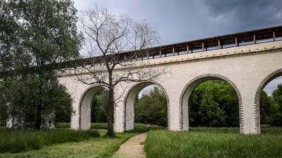 *** арка акведук тропинка