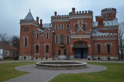 ***Дворец Ольденбургских дворец замок осень отдых прогулка