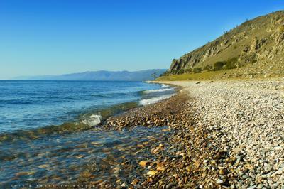 По берегу Байкала Байкал Сибирь природа осень
