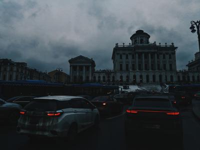 Пробки Москва пробка трафик