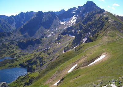 Горные озёра Высокие Татры горы скалы пейзаж