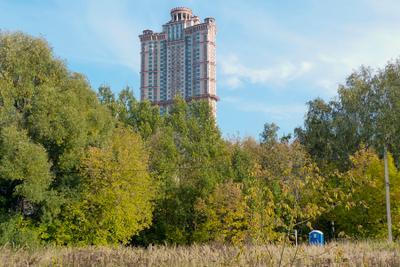 немного синего и о масштабе )) Моя Москва