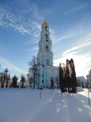 Колокольня Свято-Троице-Сергиевой Лавры