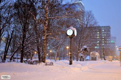 Такое разное время часы время зима