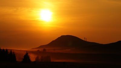 Жаркое солнце Хакасии