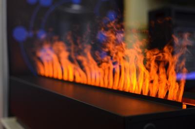 Реалестичный огонь огонь камин макро