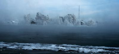 островки прошлого зима Ангара Иркутск winter river Angara Irkutsk