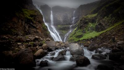 Водопад Rjúkandi, Исландия