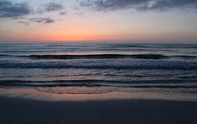 Рассвет рассвет море