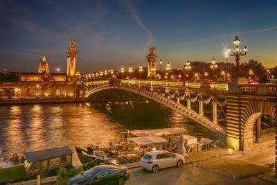Мост Александра III в Париже Мост Александра III в Париже