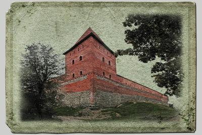 Лiда. Замок. Лида Беларусь Замок