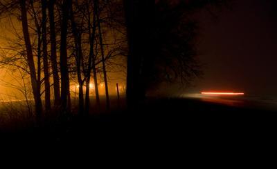 *** ночь зима длинная выдержка