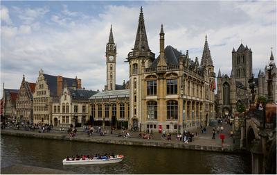 Гент путешествия Гент Бельгия