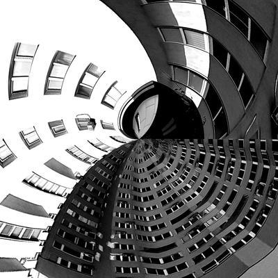С высоты птичьего полета Архитектура здания высота