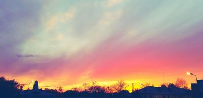 Закат в Санкт-Петербурге Санкт-Петербург Питер закат природа солнце небо