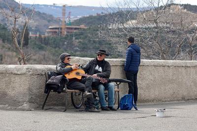 *** Тбилиси Грузия музыканты Tbilisi Georgia musicians