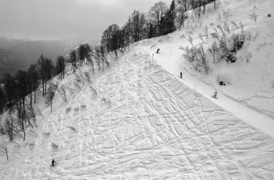 Горные хокку #2 горы снег