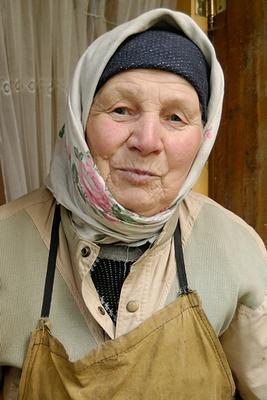 Труженица Россия Туьская область портрет