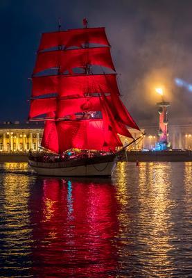 Алые паруса 2018 (5) Санкт-Петербург Нева Алые паруса