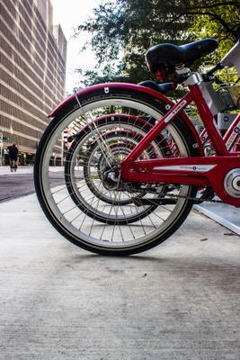 Про велосипеды Город велосипеды утро