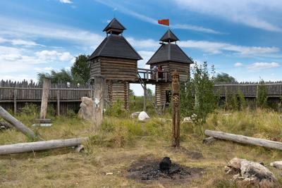вот и закончился День Перуна... Славянский идол крепость Перун музей