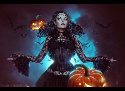 Halloween 2014 halloween pumpkin bats witch gothic antique vampire alternative model esfir хэллоуин тыква летучие мыши ведьма колдунья готика антикварная вампир готическая альтернативная модель эсфирь