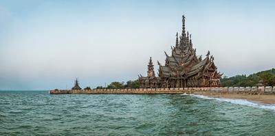 Храм Истины Таиланд Паттайя Храм Истины