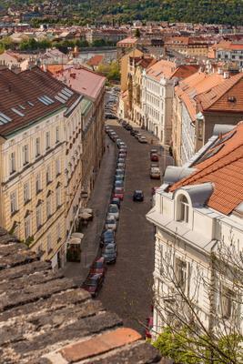 Прага. Вышеград. европа прага вышеград город улица автомобили