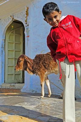 Жители города Осиен. Индия. Индия