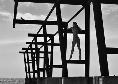 Птичка ню Кривцов nude Krivtsov фотоканикулы photovacation фототур море обнаженная фотография