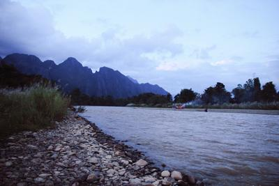 Dusk in Laos laos dusk