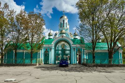 Церковь в селе Чернобаевка церковь православие храм архитектура