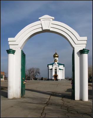 Астрахань. Храм Сошествия Святого Духа на апостолов