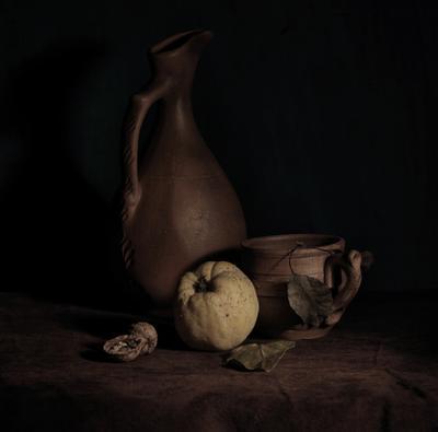 Айва и глина