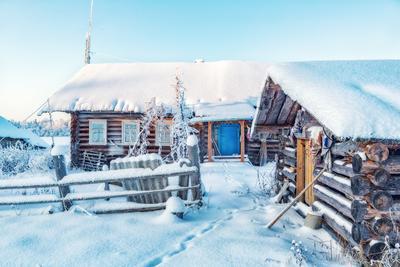 Кенозерье Кенозерье зима мороз утро