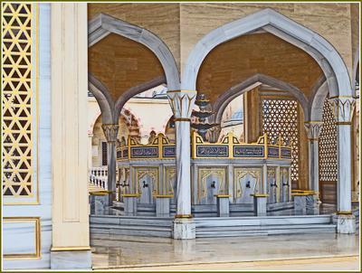 «Сердце Чечни» [2] Чечня Грозный мечеть омовение
