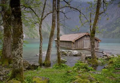 Obersee Германия Альпы Оберзее