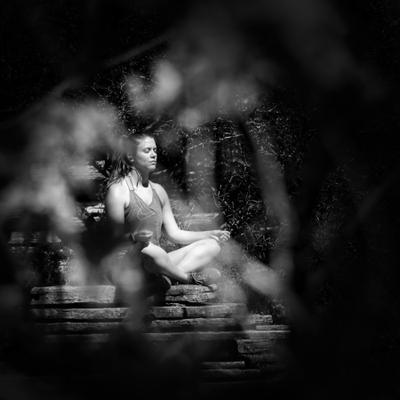 Meditation медитация женщина