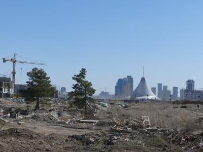 Астана строительная. Астана левый берег
