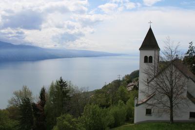 ***Вид на Женевское озеро