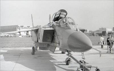 Як-141 Як-141 авиация самолет стоянка Жуковский 1992
