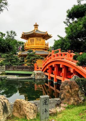 Храм Абсолютного совершенства, Гонгконг храм азия пейзаж